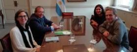 Reunión entre representantes de Plena inclusión España y del Ministerio de Educación argentino