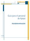 Portada de Autodeterminación. Guía para el personal de apoyo