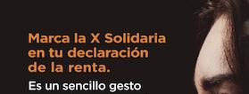 Cartel de la campaña X Solidaria 2021