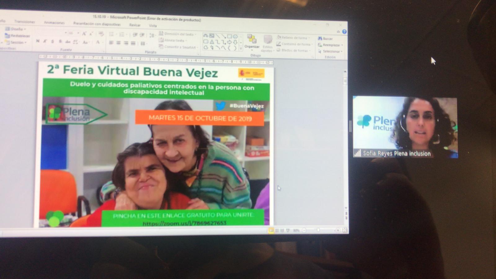 2º Feria Virtual sobre la Buena Vejez