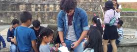 Proyecto social en Almaguez (Colombia)