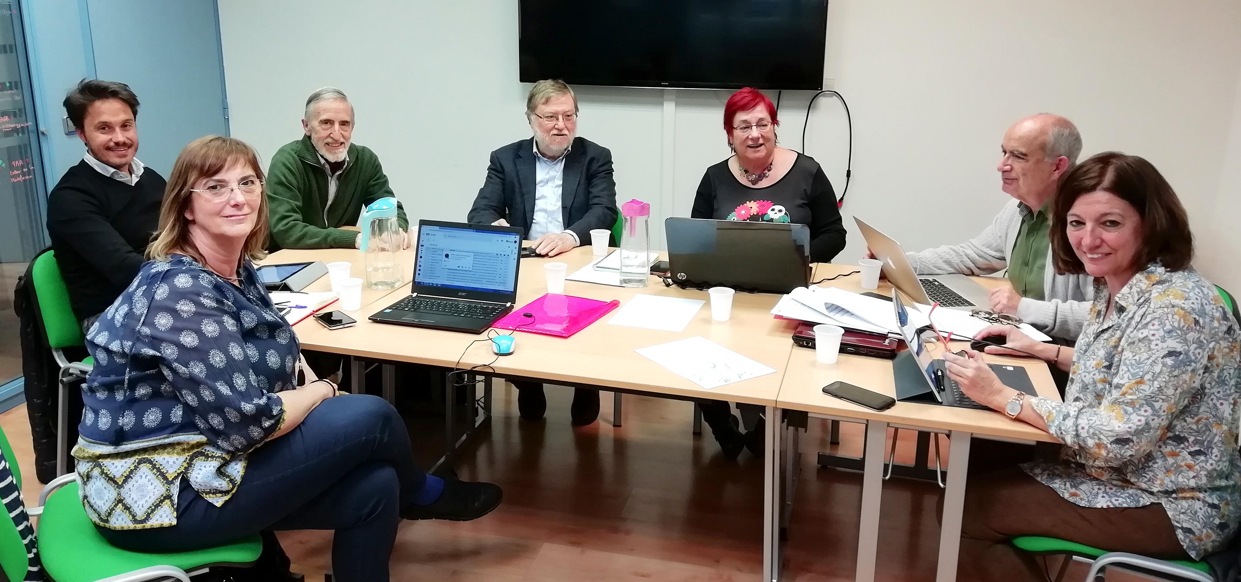 Foto de una reunión del Comité de Ética de Plena inclusión