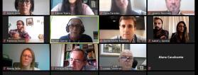 Pantallazo del Seminario Vivir con Buenos Apoyos