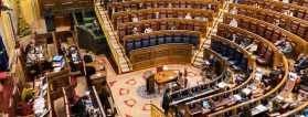 Pleno del Congreso que debatió la eutanasia