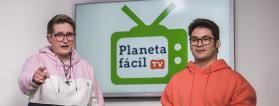 Eva y Simón presentan Planeta Fácil TV
