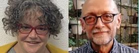 Ana Martínez y Javier Tamarit