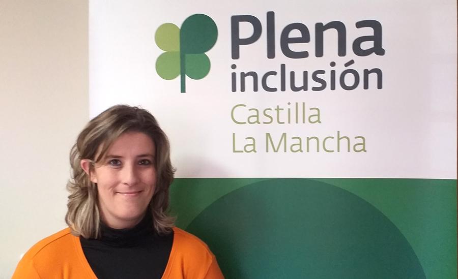 Lorena, en Plena inclusión Castilla-La Mancha