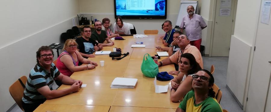 Image de la reunión del observatorio