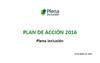 Portada del Plan de Acción 2016 de Plena inclusión