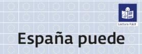 Portada de el documento de 'España puede. Plan de Recuperación'