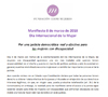 Portada del Manifiesto de Cermi por el Día Internacional de la Mujer 2018