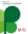 Portada de Memoria 2017: Conectados por la accesibilidad