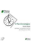 Portada 5º Plan Estratégico de Plena inclusión 2016-2020