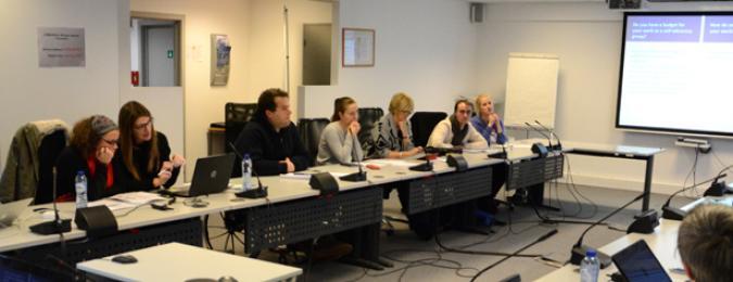Imagen de los asistentes a la reunión de EPSA