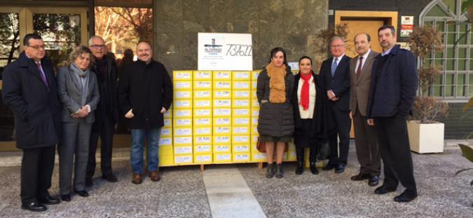 Organizaciones del CERMI entregan las firmas al Gobierno