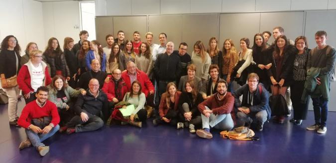 Foto de familia de las personas participantes en el proyecto