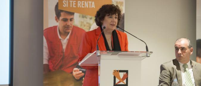 Estrella Rodríguez Pardo, presidenta de la Plataforma de ONG de Acción Social