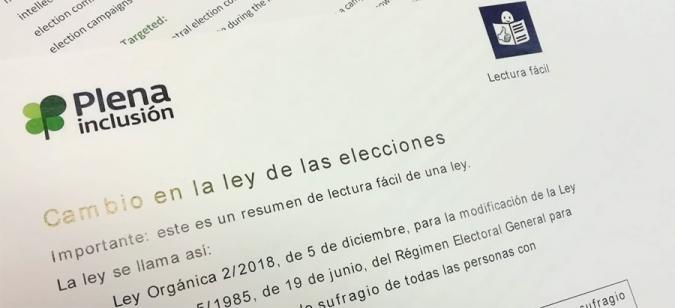 Encabezado del documento en lectura fácil