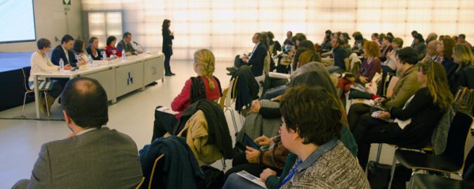 Foto del auditorio del encuentro Letras para Todos