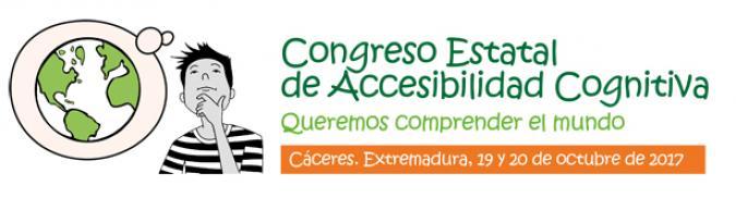 Cartel del Congreso de Accesibilidad Cognitiva