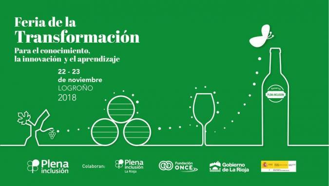 Cartel Feria de la Transformación de Plena inclusión