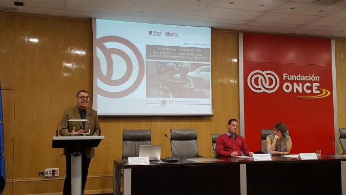 Prsentacion Estudio de la UAM en Fundación ONCE