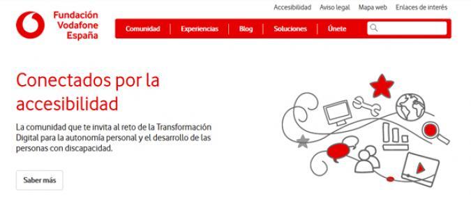 imagen de la web de conectados por la acccesibilidad