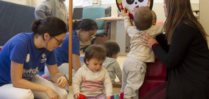 Imagen de un servicio de atención temprana de Plena inclusión