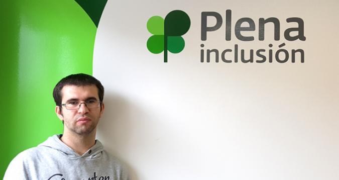 Daniel Fernández respresentará a los autogestores de España
