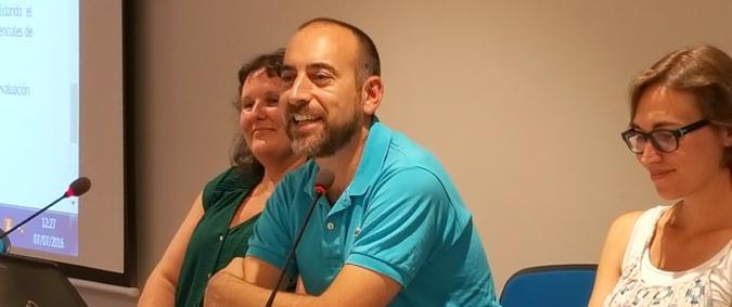 Rafael Martínez en la presentación en Madrid del estudio POMONA