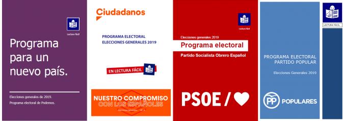 portada 4 programas electorales