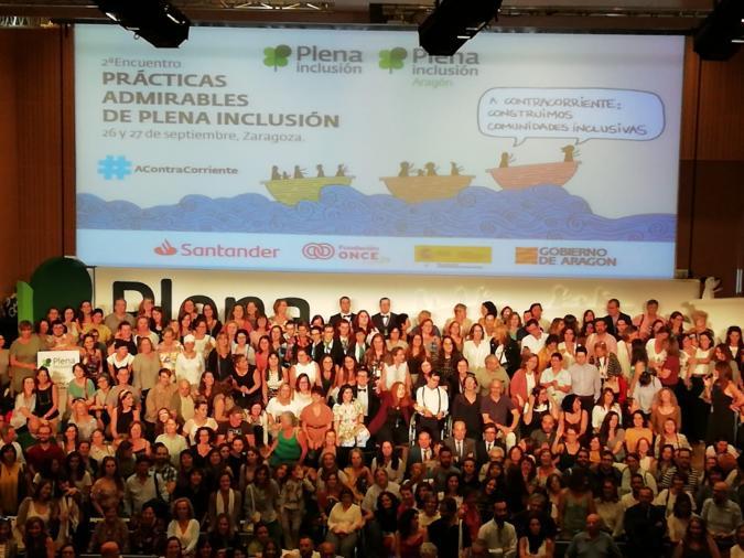 Foto de familia del 2º Encuentro de PPAA de Zaragoza