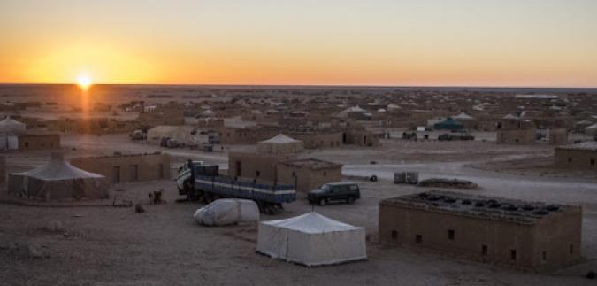 Imagen de los campamentos saharauis