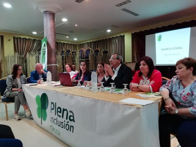 Asamblea de Plena inclusión Ceuta