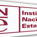 Cartel con logo del INE