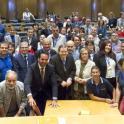 Foto de familia de la jornada en el Congreso