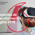 Cartel de la convocatoria de proyectos de transformación digital