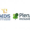 Logo Aedis y Plena inclusión