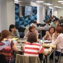 Una imagen de la jornada de empleo personalizado en Madrid