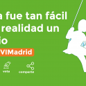 Cartel de decide Madrid