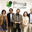 Foto de familia en la entrega del Premio