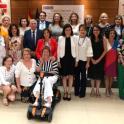 Imagen de la reunión del Consejo Territorial de Servicios Sociales