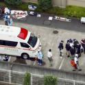 Imagen del lugar de la matanza en Japón