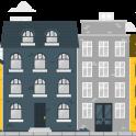 ilustración edificios viviendas