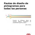 portada del manual Pautas de diseño de pictogramas para todas las personas