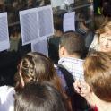 Imagen del examen de oposiciones