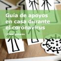Guía apoyos en casa durante el coronavirus