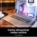 portada guía cómo dinamizar redes online logo lectura fácil y plena inclusión