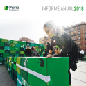 Portada del Informe Anual 2018