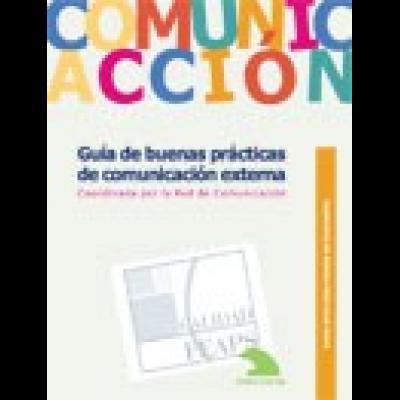 Portada del Cuaderno de Buenas Prácticas: Guía de buenas prácticas de comunicacion externa